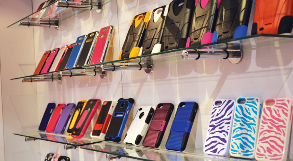 Outfit your store with phone cases and accessories