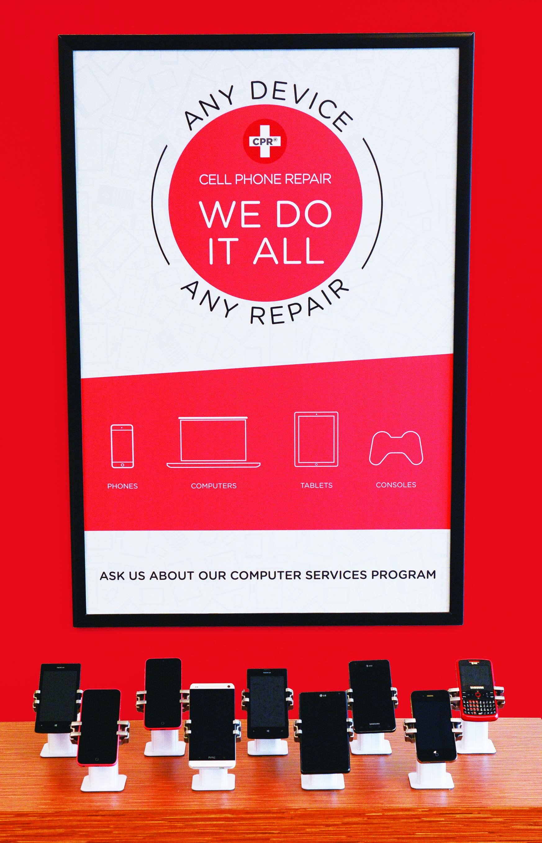 Why your customers want you to join cell phone repair cell phone repair is americas largest mobile device repair franchise with more than 260 locations the cpr family prides itself on being an asset to their 1betcityfo Gallery